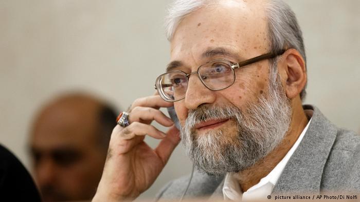محمد جواد لاریجانی: گزارشگر ویژه با گروههای تروریستی فالوده میخورد.