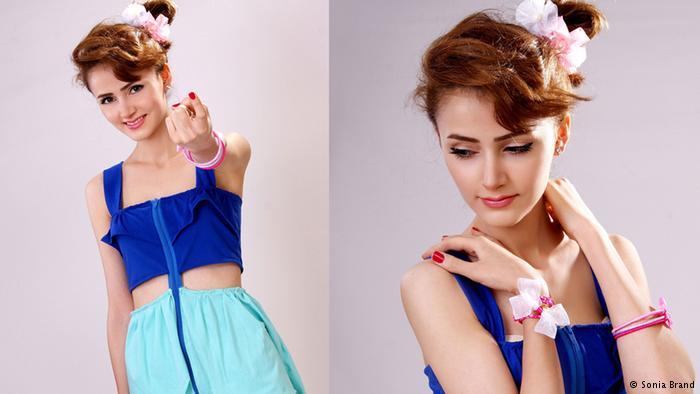 ظرافت دخترانه در لباسهای شاد و مدرن طراح کرد ایرانی