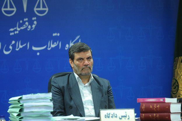 قاضی ابوالقاسم صلواتی ریاست دادگاه را به عهده دارد